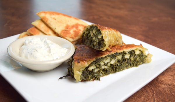Spiro's Taverna Greek Spinach Dish