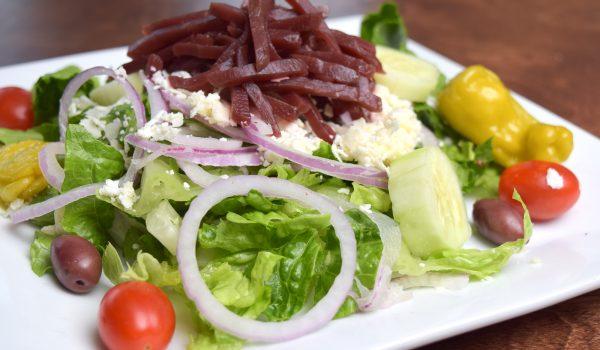 Spiro's Taverna Greek Salad Dish